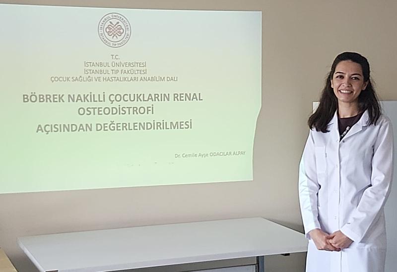Dr. Cemile Ayşe Odacılar Alpay, Böbrek Nakilli Çocukların Renal Osteodistrofi Açısından Değerlendirilmesi